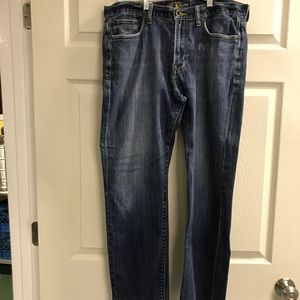 Lucky Brand 363 Vintage Straight Jeans 34W x 30L